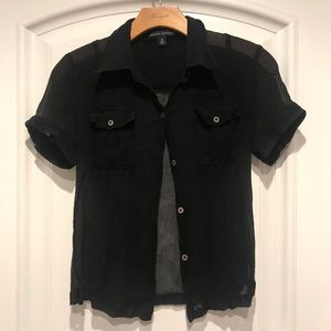 Banana Republic black shirt